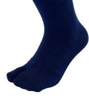 Taping-Socks - Hallux valgus 41/42 blau korrigierend